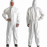 Buy cheap SMS Non woven Water Resisitant Disposable Work Overalls Breathable from wholesalers