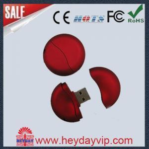 Buy cheap Round 16GB Custom USB Thumb Drive from wholesalers