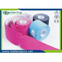 Pre Cut I shape Kinesiology Tape 5cm*5m cotton adhesive elastic tape for sporter with various colours