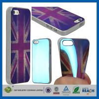 Retro UK Style TPU Gel Soft Girls Fashion Durable Cell Phone Cases For Apple Iphone 5S