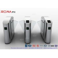 Buy cheap Flap Barrier Gate Flap Wing Automatic Systems Turnstiles Polishing With Anti - Reversing Passing product