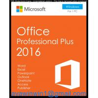 Buy cheap Windows Plus 2016 And Office Home And Business 2016 Server For Home & Student product