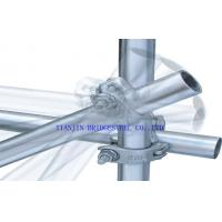 Buy cheap Galvanised ERW Steel Scaffold Tube GI Scaffolding Pipe SY/T5768-95 GB/T3091-2001 product