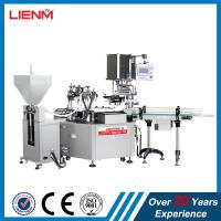 Buy cheap Automatic Cosmetic Cream Lotion Liquid Filling Line Packing Line product