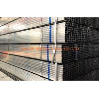 Buy cheap Q235 / Q345 Pre Galvanized Steel Pipe , BS1387 Hollow Section Square Steel Tubing product