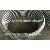 Buy cheap Industrial Single Row Flat Fin Tube Axial Movement Metal Expansion Joint from wholesalers