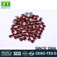 Tiny Flat Hotfix Glass Rhinestones High Color Accuracy With Even Facets