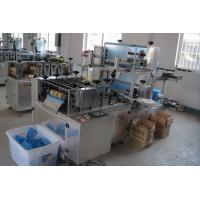 Buy cheap 4kw Plastic Sleeve Making Machine 60-80 Pcs/Min With Touch Screen Operated product