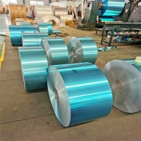 Buy cheap 8011 Hydrophilic Blue Aluminum Fin Stock For Air-conditioner Heat Transfer product