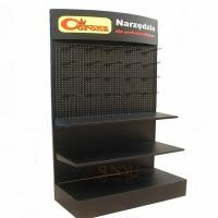 Buy cheap Big Retail 3 Tier Floor Display Stands Black Available For Commodity Promotion product