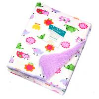Buy cheap Double side printed soft polar fleece baby knitted blanket for baies, Knitted baby quilt blanket, 100%polyeste product