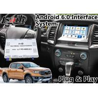 Buy cheap Android 6.0 Auto Interface Gps Navigation for Ford Ranger / Everest SYNC 3 System LVDS Digital Display Bluetooth OBD from wholesalers