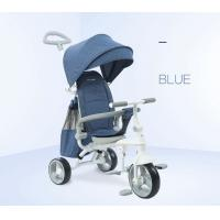 Buy cheap EVA Foam Tire Toddler Push Tricycle , Multi Color Tricycle Bike For Toddler product