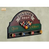 Buy cheap Billiard Room Wall Decor Antique Wooden Wall Signs Decorative Wall Plaques Wood Wall Art Signs product