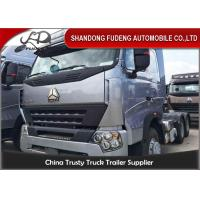 Buy cheap 6 X 4 Drive HOWO Tractor Head Trucks 309KW Power Max.Speed 92km/h product