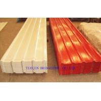 Buy cheap Pre Painted Galvanized Steel Sheet , Color Coated Corrugated Metal Roofing Sheets product
