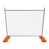 Buy cheap 2400mm Width Construction Site Fencing Outdoor Mobile Temporary Security Fencing product