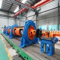 Buy cheap JGG-1+9/400+9/630 Tubular Stranding Machine For Twisting product