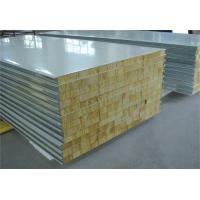 Buy cheap Fire Proof Rock Wool Galvanised Steel Roofing Sheets Environment Friendly product