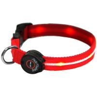 Buy cheap Orange LED Lighted Pet Collar from wholesalers
