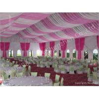 Buy cheap 300 People Luxury Wedding Tents Rentals Aluminium Frame Marquee With Transparent PVC Windows product
