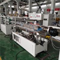 Buy cheap T5 Transparent PC Lampshade Extruder Machine Adopts Efficient Extrusion Screw product