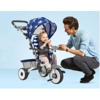 Buy cheap 1-5 Years Baby Tricycle Bike With Reclining Seat Front Wheel With Clutch Button product