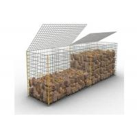 Buy cheap Galfan Landscaping Stone Decorative Welded Mesh Gabions , Welded Gabion Cages from wholesalers
