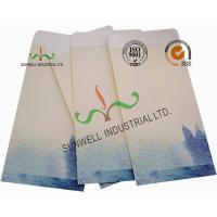 Buy cheap Lotus / Fish Pattern Custom Printed Envelopes Special Size Kraft Coated Paper product