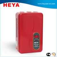 China Portable electrical voltage stabilizers 500VA 220V wall hanging voltage protector on sale