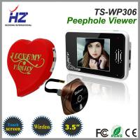 Buy cheap 2.4GHz digital frequency 3.5''touch screen wireless digital door peephole viewer product