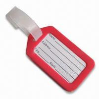 Buy cheap Luggage Tag, Available in Red, Suitable for Decoration Purposes product