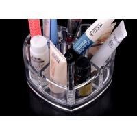 Buy cheap 8 Compartments Clear Acrylic Display Stand Unique With Heart Shape product
