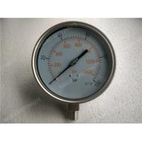 Buy cheap 6 Inch All Stainless Steel Liquid Filled Pressure Gauge with Shrink Bezel product