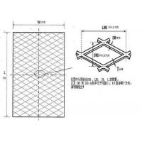 Buy cheap 304 316 316l Expanded Wire Mesh , Stainless Steel Diamond Shape Expanded Mesh from wholesalers