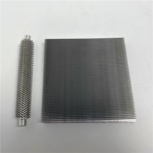 Buy cheap Extrusion Aluminum Skiving Heatsink For High Power Inverter product