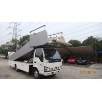 Buy cheap High Loading Aircraft Boarding Stairs , Airplane Steps Ladder Easy Moving product