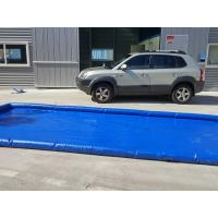 Buy cheap Flexible Blue Car Wash Mats Water Containment Printing Double - Tripple Stitch product