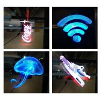 Buy cheap High Resolution 3d Hologram Advertising 3D Naked Eye LED Fan Holographic Display from wholesalers