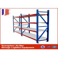 Buy quality three tier Durable Warehouse Storage Racks garage storage shelving systems at wholesale prices