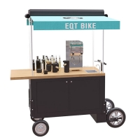 Buy cheap 4500W Mobile Fast Food Tricycle Drink Vending Cart product