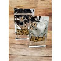 Buy cheap Silver Aluminum Foil Stand Up Pouch Window Opening Self - Sealing For Food Packaging product