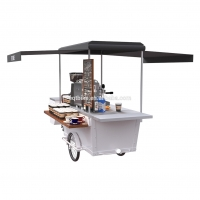 Buy cheap Tricycle 300kg Load Hot Dog Vending Cart For Sausage product