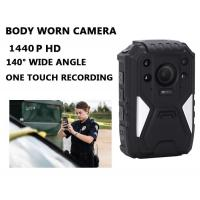 Buy cheap Full HD Law Enforcement body worn surveillance cameras Night Vision H.264 Video Compression product