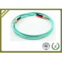 Buy cheap Duplex OM3 LC To LC Multimode Fiber Optic Patch Cable Jumper For Telecommunications from wholesalers