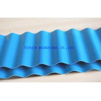 Buy cheap SGCC Galvanized Corrugated Steel Sheet Panel, Hot Dip Galvanized Color Coated Roofing Sheets product