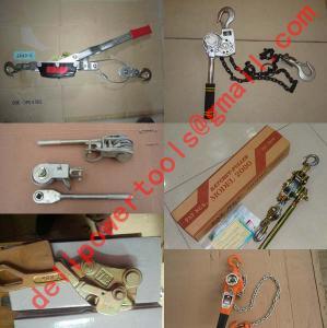 Buy cheap quotation Mini Ratchet Puller,Ratchet Puller, Cable Hoist product