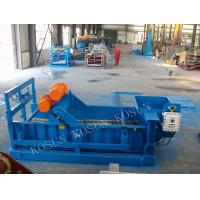 Buy cheap QZS 704 HF linear Shale shaker solids control equipment have AWD angle from wholesalers