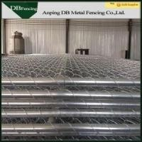 Buy cheap Portable Chain Link Temporary Fencing Panels 6'X10' Removable Easy Installation product