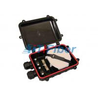 Buy cheap 12 Core Small Fiber Splice Closure Dome Type For Pressure Testing from wholesalers